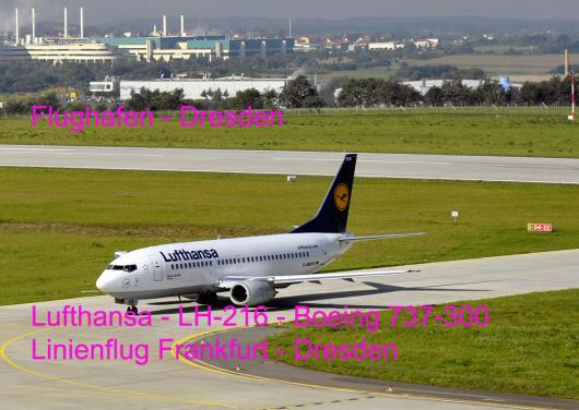 2011-02-aib-Fall Freiberg - Video zeigte LH-216 - Boeing 737-300