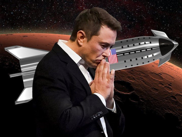 elon-musk-spacex-starship-super-heavy-stainless-steel-rocket-booster-spaceship-moon-mars-illustratio
