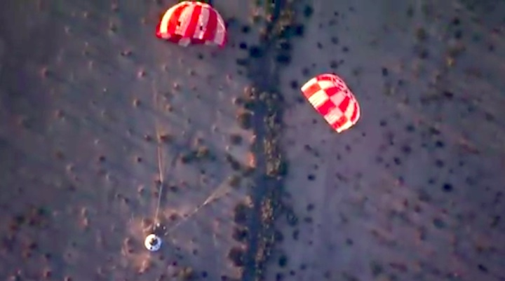 orion-parachut-test